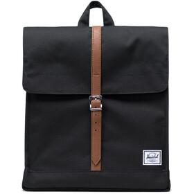 Herschel City Mid-Volume Backpack black/tan